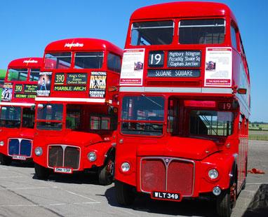 tarihi londra otobüsleri