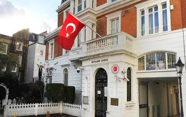 T.C. Londra Başkonsolosluğu iletişim bilgileri - Londra.life